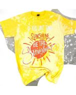 Be the Sunshine Tee Yellow-Orng