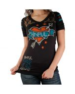 Sinful T-Shirt S2276 Black