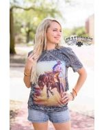 Crazy Train Bronc Buster Tee