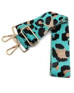 Bag Strap Leopard Turquoise