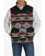 Cinch Mens Quilted Vest Multi