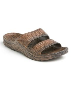 Pali Hawaii Jon Mandals Dark Brown