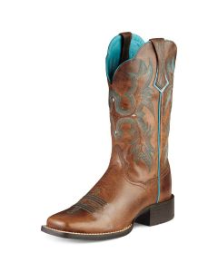 Ariat Womens Tombstone S Brown
