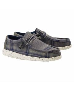 HD Wally Funk Plaid Blue Grey