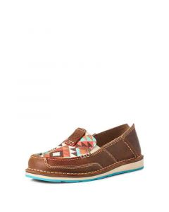 Ariat Women's Cruiser Wicker Brown Multi Geo Print
