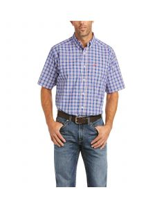 Ariat Bodie SS Shirt Prussian Blue