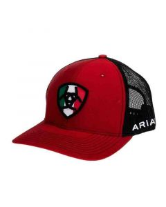 Ariat Hat Mexican Flag Patch
