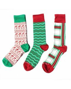 Men's Cool Yule Sock Trio