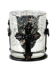 Candle Holder Crosses 79-0598