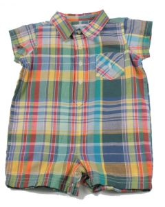 Polo Layette Boys Onesie 1146