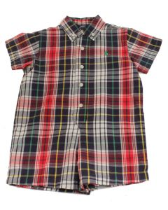 Polo Layette Boys Onesie 2129 Size 12 Months