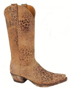 "Old Gringo Boots 13"" Brown Leopardito"