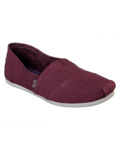 Bobs Plush Peace and Love Burgundy