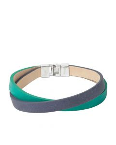Fossil Wrap Blue-Green