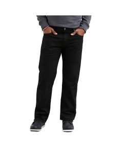 Levis Mens 569 Loose Fit Black Jeans