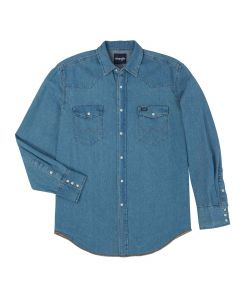 Wrangler Denim Shirt Stonewash
