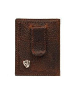 Ariat Front Pocket Wallet Choc