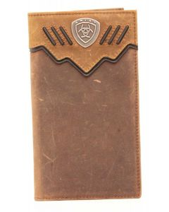 Ariat Rodeo Wallet Shield Brown