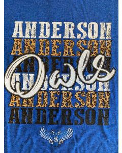 Anderson Owls Repeat Tee Round Neck