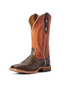 Ariat Mens Relentless Record Setter Brown Cowboy Boots
