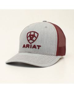 Ariat Hat Emb Logo 112 Burgandy