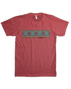Leroy Aztec Banner Adult Red
