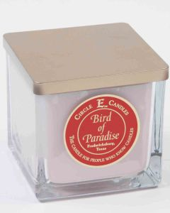 Circle E 22oz Square Jar Candle