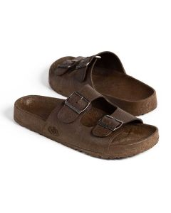 Pali Hawaii Brown Buckle Sandals