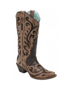 Corral Boots Chocolate C1183