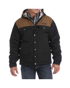 Cinch Canvas Barn Coat Blk Tan