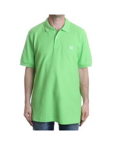 Chaps Solid Lime Polo Shirt