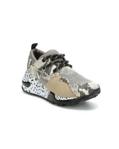 Cliff Natural Snake Dad Sneakers