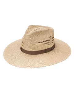 Charlie 1 Horse Mexico Shore Straw Hat Tan-Brown