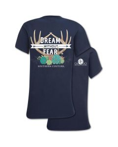 SC Dream Without Fear Tee Navy