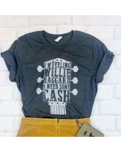 Willie Haggard and Cash Tee