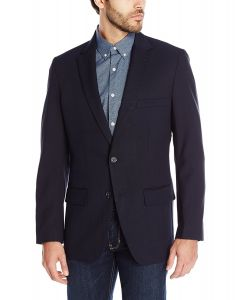 Haggar Travel Blazer Navy