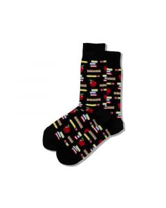 Hotsox Mens Socks Teacher Black