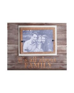 Mud Pie All About Family Frame