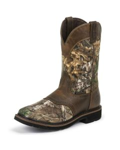 Justin RealTree Xtra Work Boots