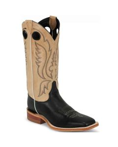 Justin Mens Bent Rail Boots Stillwater Black
