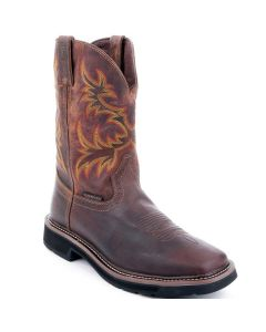 Justin Stampede Boots Driller Waterproof Soft Toe