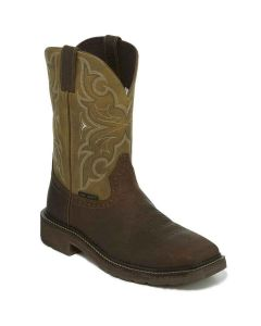 Justin Steel Safety Toe Work Boot Amarillo Cactus