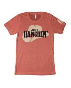 Just Ranchin Clay Tee