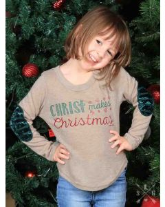 Girls Christ Makes Christmas Tunic