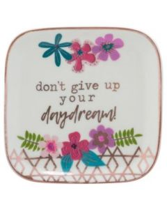 Karma Large Trinket Tray Flower