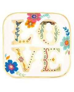 Karma Small Trinket Tray Love