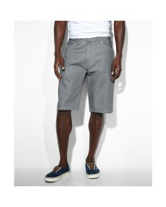 Levis 569 Shorts Silver