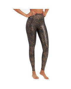 Spanx Metallic Leopard Leggings