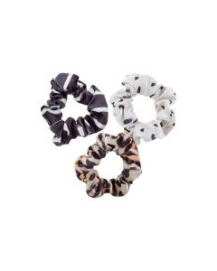 Karma Leopard Scrunchie Set