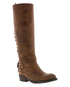 Volatile Marcel Tall Boots Tan